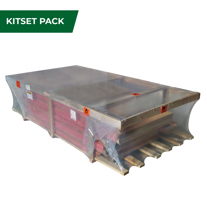 Cedar garden shed kitset pack
