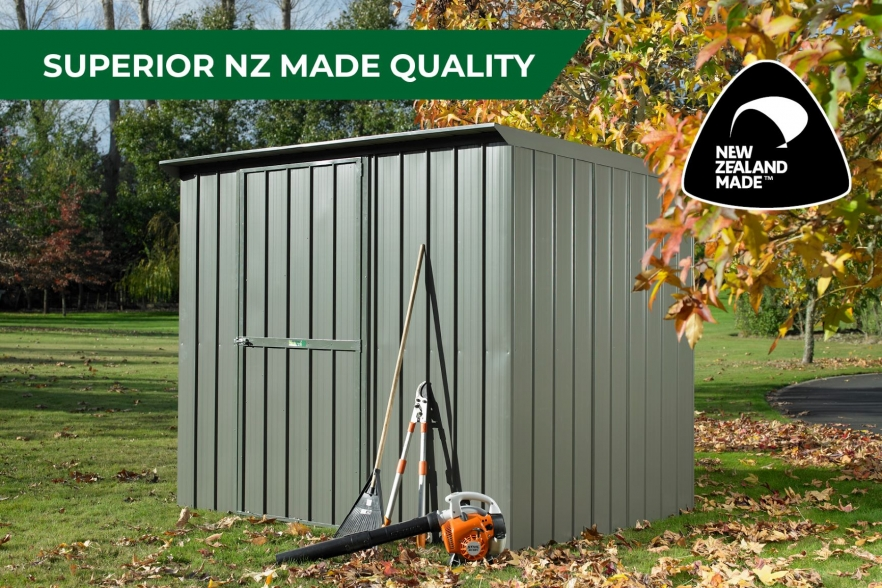 Fortress garden shed nz made