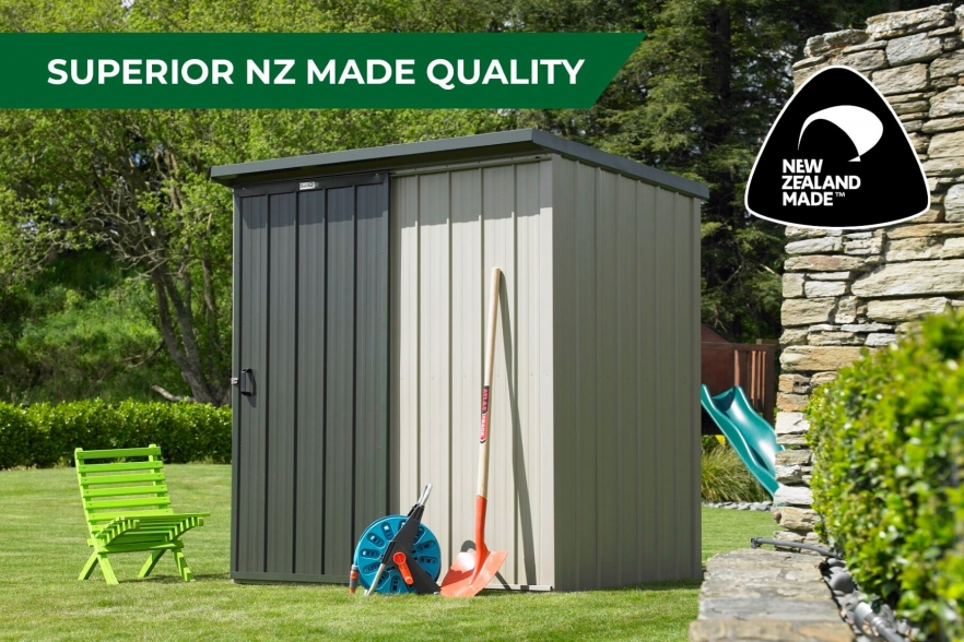 Kiwi garden shed nz made