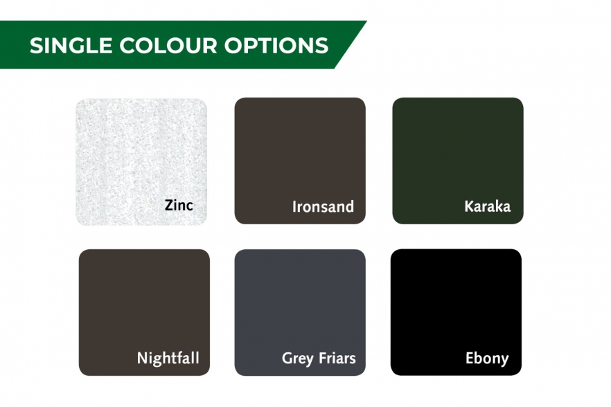 Kiwi garden shed colour options