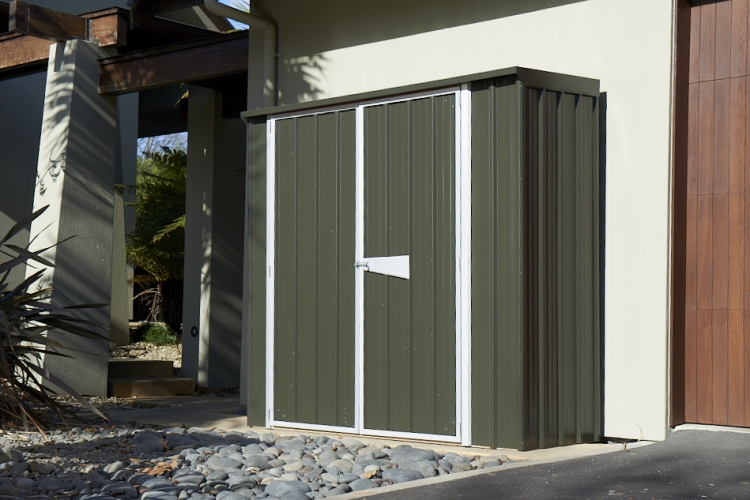 skillion shed lock up storage compact