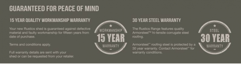 Rustics Warranty