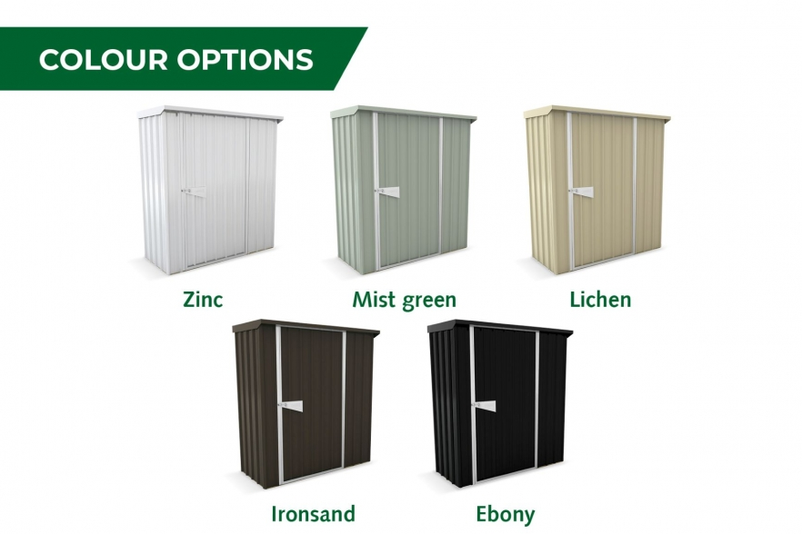 Garden shed guardian colour options