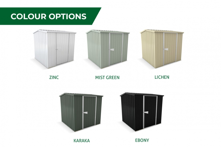 Garden shed colour options