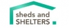 Sheds and Shelters logo