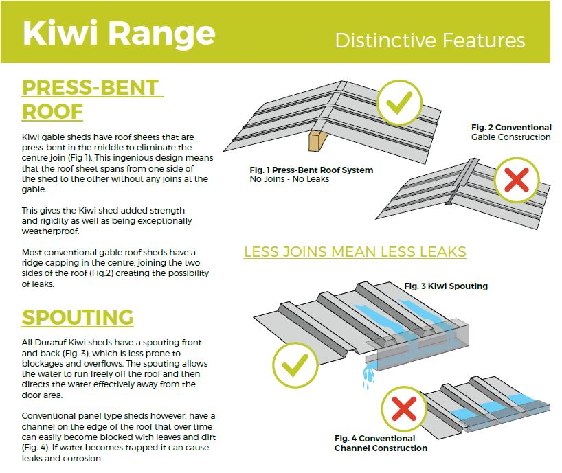 Kiwi distinctive features