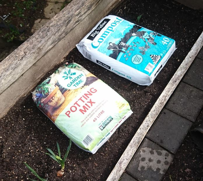 Compost and potting mix