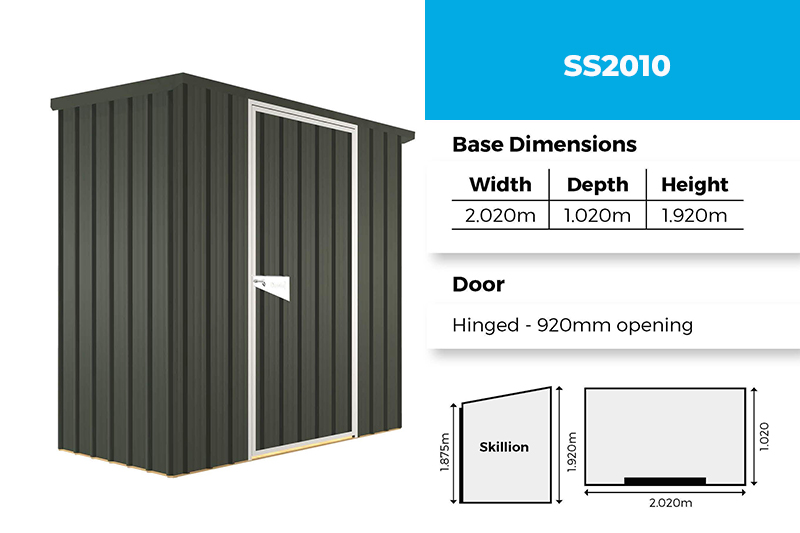 Sentry SS2010 garden shed